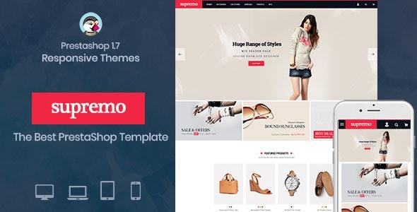 Spremo  Fashion Responsive Prestashop 1.7 theme - Fashion PrestaShop