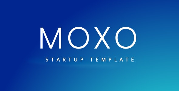 Moxo - Startup Template - Technology Site Templates