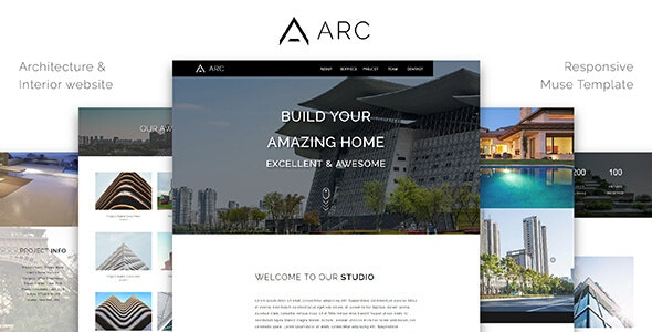 ARC_Architecture / Interior Muse Template - Corporate Muse Templates
