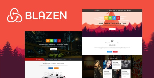 Blazen - Event and Exhibition Bootstrap 4 Template - Events Entertainment