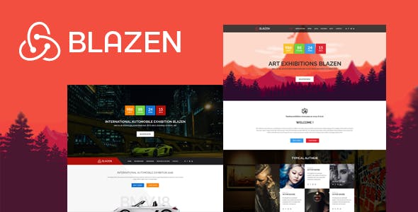Blazen - Event and Exhibition Bootstrap 4 Template