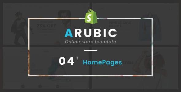 Fashion Shopify Theme - Arubic - Shopping Shopify