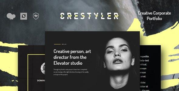 Crestyler - Creative Portfolio WordPress Theme