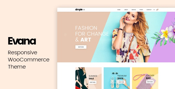 Evana - Responsive WooCommerce Theme - WooCommerce eCommerce