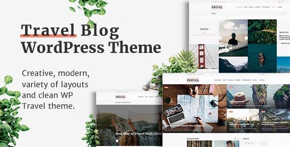 Provel - Modern Blog & Magazine Theme - Blog / Magazine WordPress