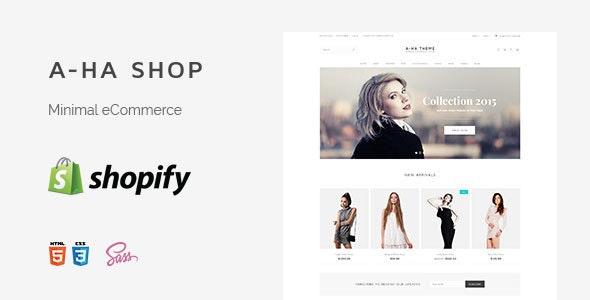 A-ha Clean & Minimal Shopify Theme (Sections Ready) - Fashion Shopify