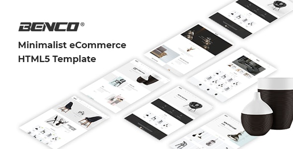 Benco - Minimal Furniture Shop HTML Template - Shopping Retail