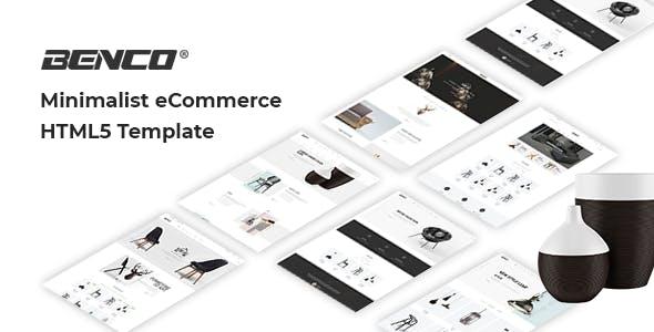 Benco - Minimal Furniture Shop HTML Template