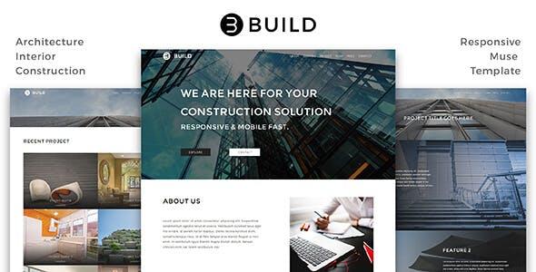 Build_Architecture / Interior / Construction Muse Template