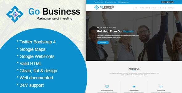 Gogap - Corporate and Business Template - Business Corporate