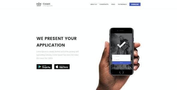 Crown - Multipurpose Marketing PSD Landing Page Pack