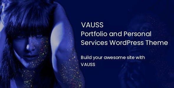 VAUSS - Portfolio and Personal Services WordPress Theme