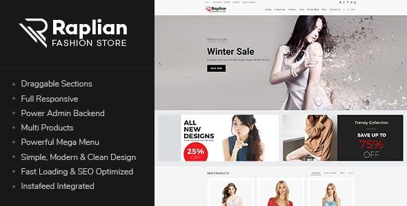 Raplian - Responsive Shopify Theme