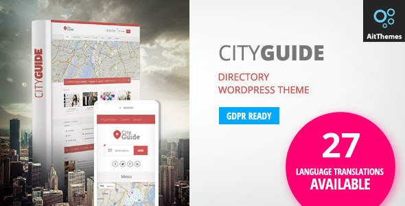 City Guide - Listing Directory WordPress Theme by ait