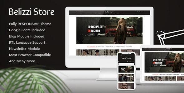 Belizzi Store - Multipurpose Responsive Fashion Opencart 3.x Theme - Fashion OpenCart