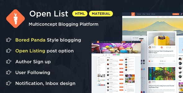 Social Media Design Templates From Themeforest