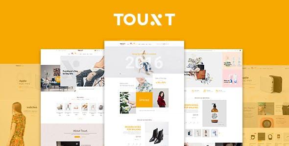 Touxt - Commerce Drupal 8 Theme