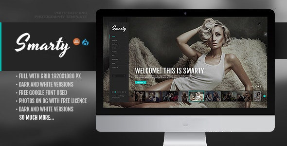 Smarty - Creative Agency & Portfolio Drupal 8.8 Theme with RTL - Portfolio Creative