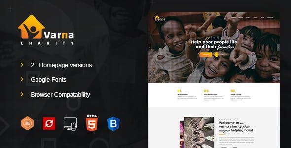Varna Charity HTML Template