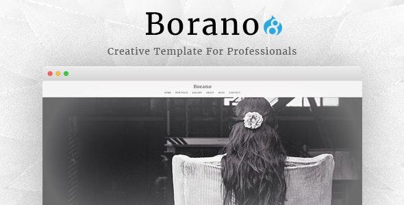 Borano - Photography / Portfolio Drupal 8 Theme - Portfolio Creative