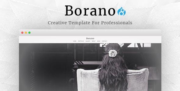 Borano - Photography / Portfolio Drupal 8 Theme