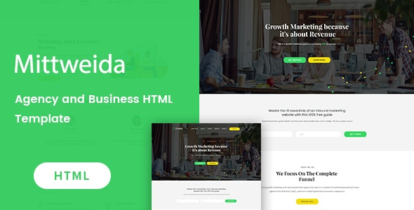 Mittweida - Business & Agency HTML Template - Business Corporate