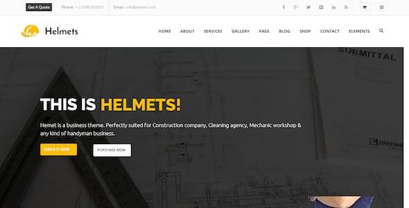 Helmets - Drupal 8 Theme for Handyman