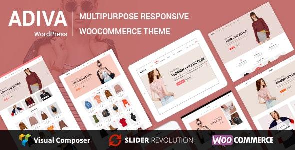 Adiva - eCommerce WordPress Theme - WooCommerce eCommerce