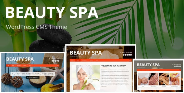 Beauty SPA - WordPress  CMS Theme - Health & Beauty Retail
