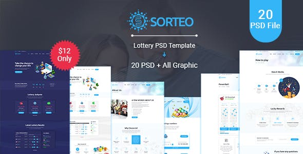Lucky Number Templates from ThemeForest