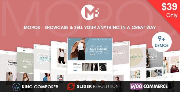 Moros - eCommerce WordPress Theme - WooCommerce eCommerce