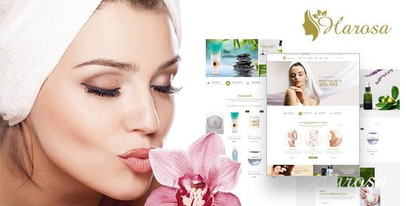 Harosa - Cosmetics and Beauty Prestashop Theme - Health & Beauty PrestaShop