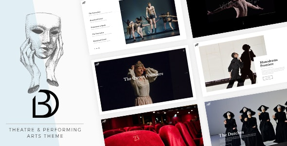 Bard - A Theatre and Performing Arts Theme - Entertainment WordPress