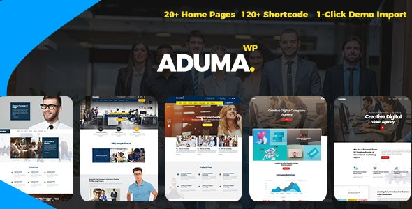 Aduma - Consulting, Finance WordPress Theme - Business Corporate