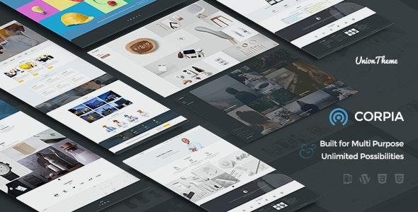 Corpia - Design Driven & Multipurpose WordPress Theme - Business Corporate