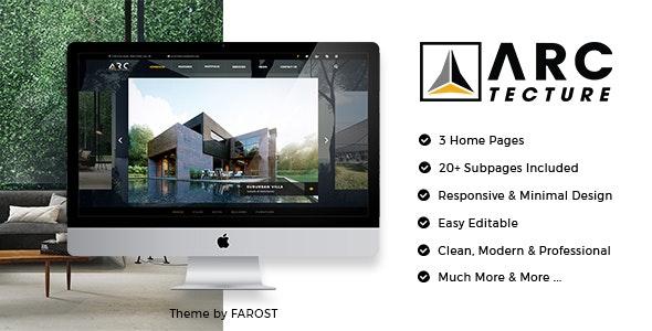 Arctecture - Interior Design WordPress Theme - Business Corporate
