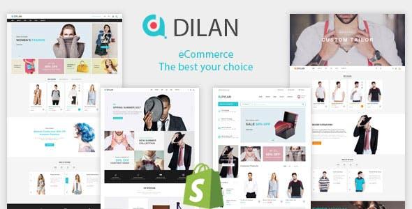 Fashion Shopify Theme - Dilan