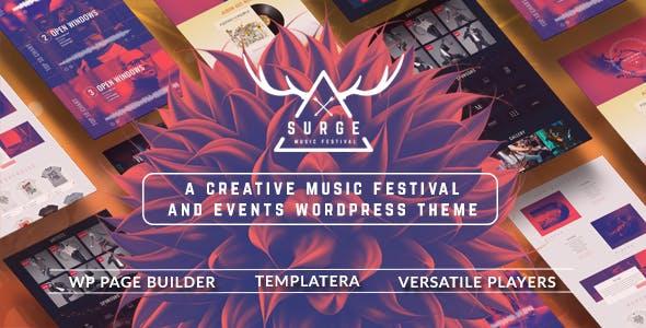 Surge - Music Festival & Event Theme
