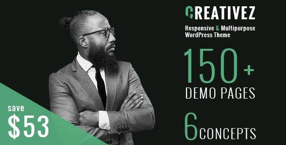 Creativez - Responsive & Multipurpose WordPress Theme - Business Corporate