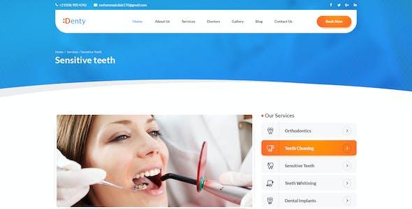Denty | Dental & Medical PSD Template