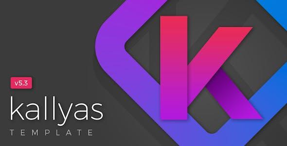 KALLYAS - Gigantic Premium Multi-Purpose HTML5 Template + Page Builder
