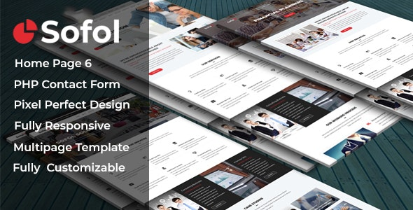 Sofol - Corporate Business Template - Site Templates
