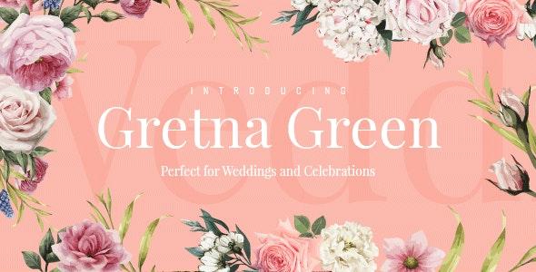 Gretna Green - Wedding Theme - Wedding WordPress