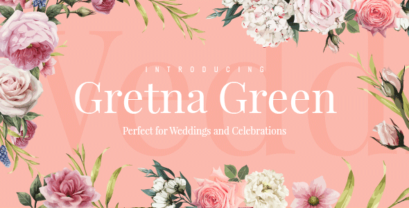 Gretna Green - Wedding Planner Theme - Wedding WordPress