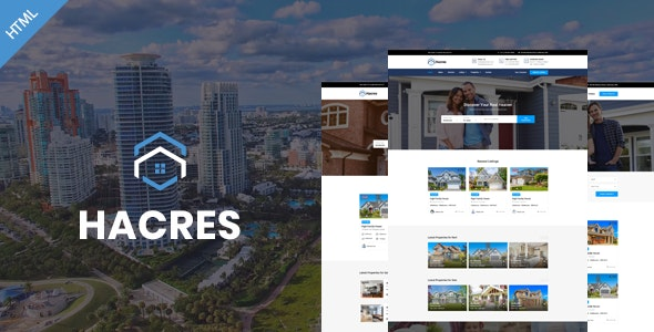 Hacres-Real Estate HTML Template | Corporate - Corporate Site Templates