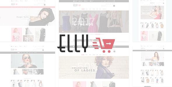 Elly - Fashion Shop eCommerce HTML Template - Fashion Retail