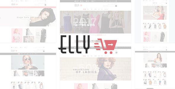 Elly - Fashion Shop eCommerce HTML Template