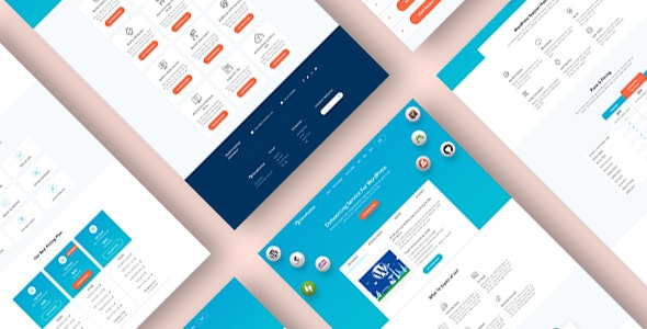 PrimePanther Business PSD Template - Business Corporate