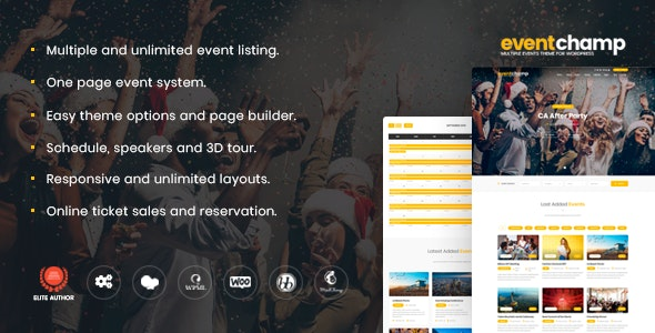Multiple Event & Conference by GloriaThemes | ThemeForest