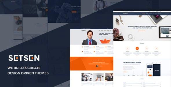 Setsen - Design Driven WordPress Theme